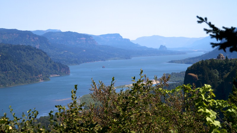 What a view. Columbia River Gorge