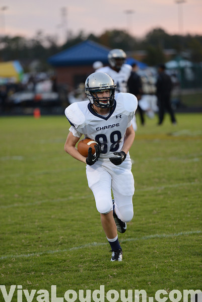 Football: John Champe at Freedom 10.18.13 (by Chas Sumser)