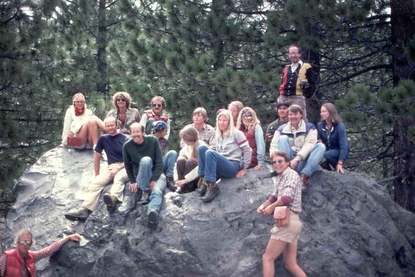 Cal State Summer Geology 1982