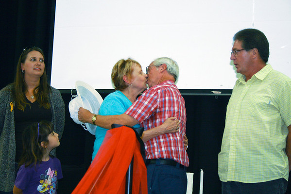 Diana Bell and Gary Cryer Rehearsal