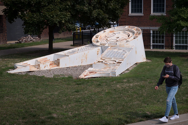 9/15/20 Universal Wheel Outdoor Sculpture