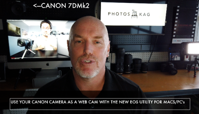Use Your Canon Camera As A Web Cam  with Macs!