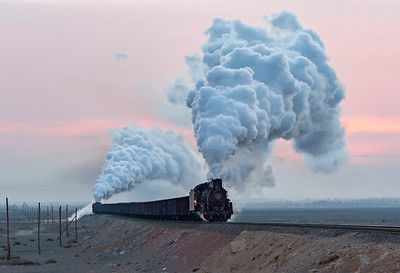 China Photos Sandaoling Coal Railway