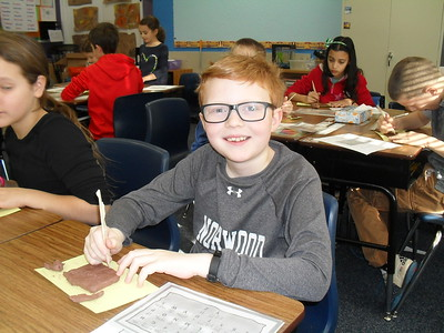 Fourth Graders Explore Ancient Cuneiform Script