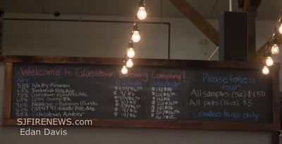 """02-15-2014, Glasstown Brewing Co. Release of """"The Nutty Fireman's Ale"""""""