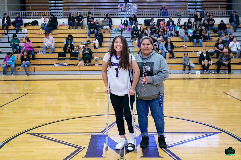 MHS Girls Basketball Parent & Senior Night 2-20-2020
