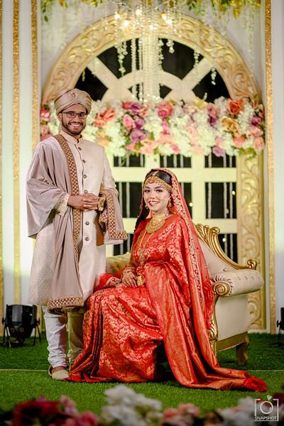 Mustabshara & Azim Wedding