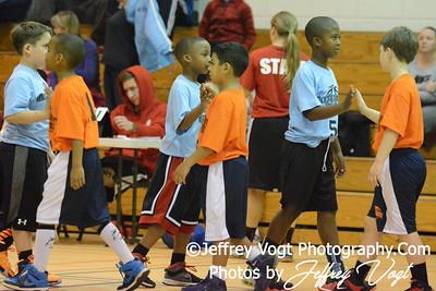 1-09-2016 Germantown Sports Association Rec Basketball 3rd Grade Sullivan Team, Photos by Jeffrey Vogt Photography