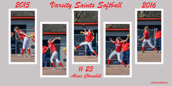 Softball Collages