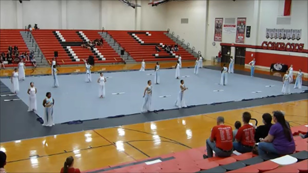 Winterguard Competition 2/20/16