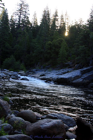 North Fork of the Stanislaus River in northern CA