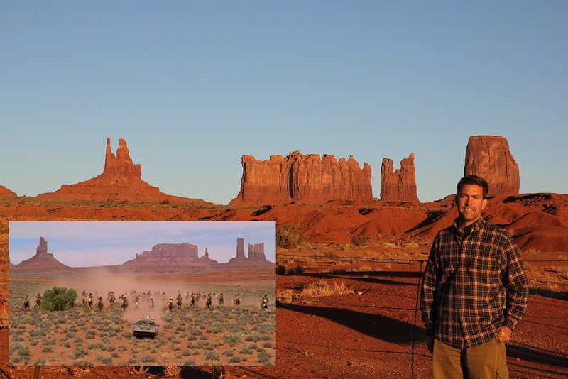 Monument Valley - Many many movies were filmed here including Back to the Future 3!