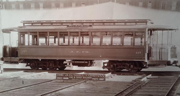Brill Company Jacksonville Streetcar Photographs
