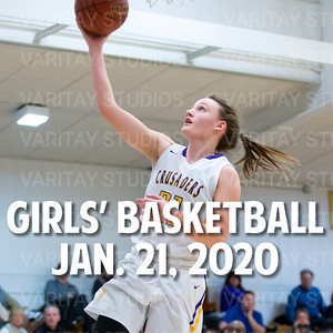 Lutheran Girls Basketball, January 21, 2020
