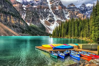 Moraine Lake - Lake Louise - Banff