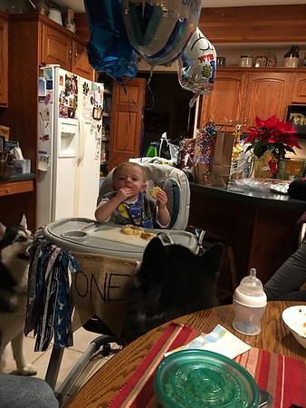 Kyler's 1st birthday party