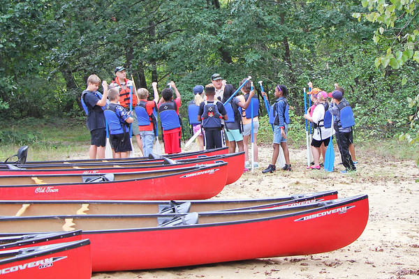 Fifth Grade Canoe Trip - September 2018