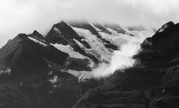 Rainbow Glacier and Surrounding Areas