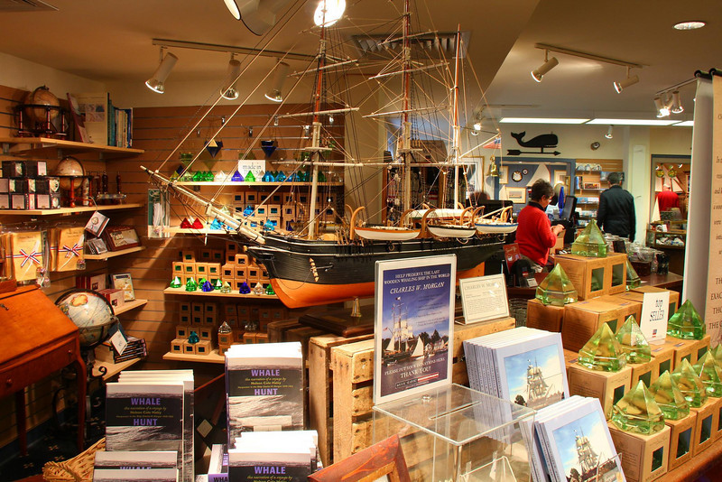 Gift Shop in Old Mystic Seaport Harbor.