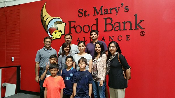 Volunteering - St Mary's Food Bank