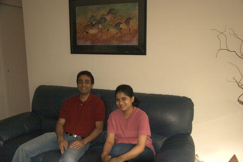 Swati, my friend Jesal's wife (on right)