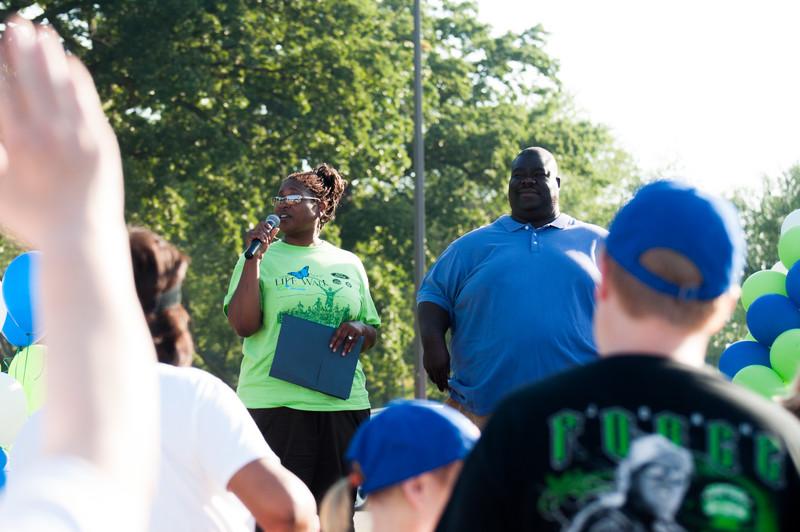 MOTTEP Gift of Life Walk / Run 2015 on Belle Isle, Detroit, MI. July 25, 2015.