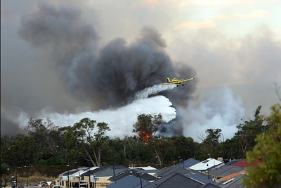Bertram Bush Fire, Western Australia