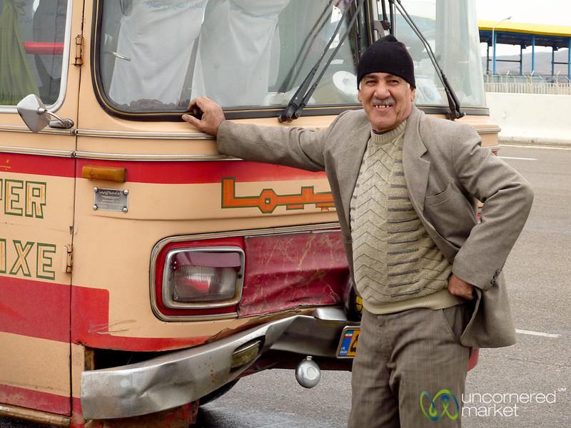 Iranian Bus Driver - Hamadan, iran