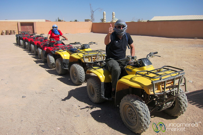 Getting Ready for Quad Biking - Hurghada, Egypt
