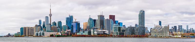 Toronto from Polson Pier