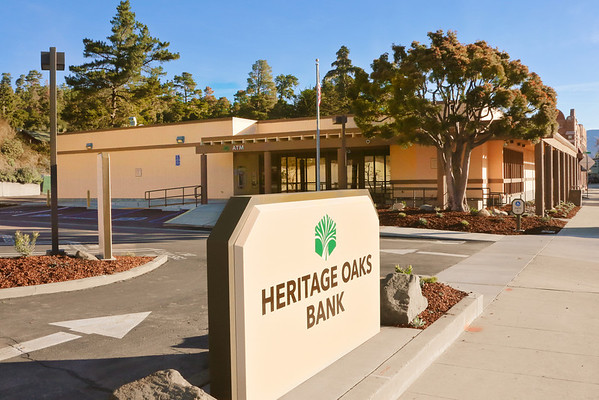 Heritage Oaks Bank Cambria - Photography for Advertising
