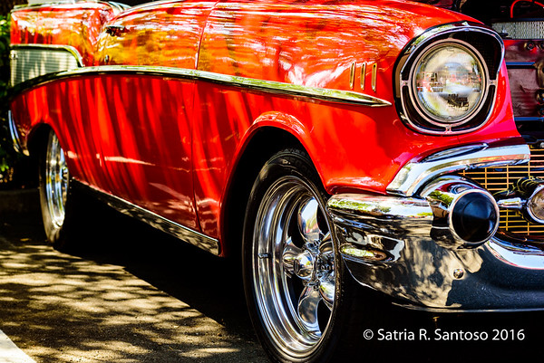Red and Chrome