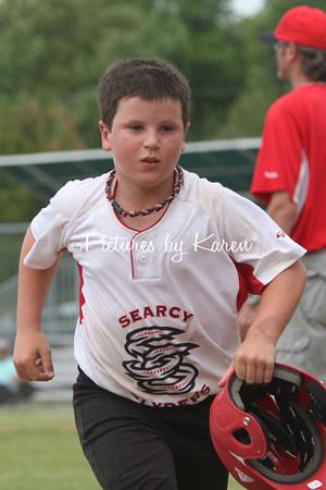 Searcy Slyders vs Tide Baseball
