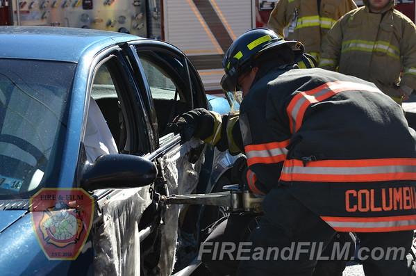Schuylkill County - Shenandoah Borough - MVA w/ rescue - 09/24/2013