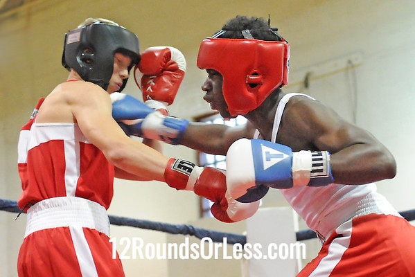 Bout #7 James Denson, Good Sheppard vs Zak Rollis, Zanesville, 141 lbs.