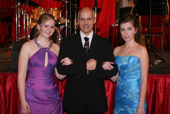 Maturitní ples gymnázia Na Pražačce