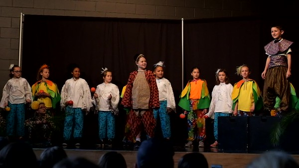 Third Grade - Maizie School Play