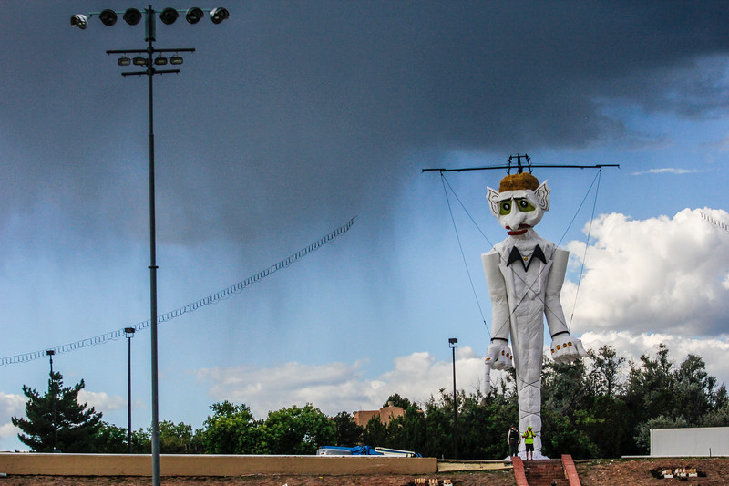 Images from the 95th Buring of Zozobra at Fort Marcy parl on August 30,2019. Gabriela Campos/The New Mexican