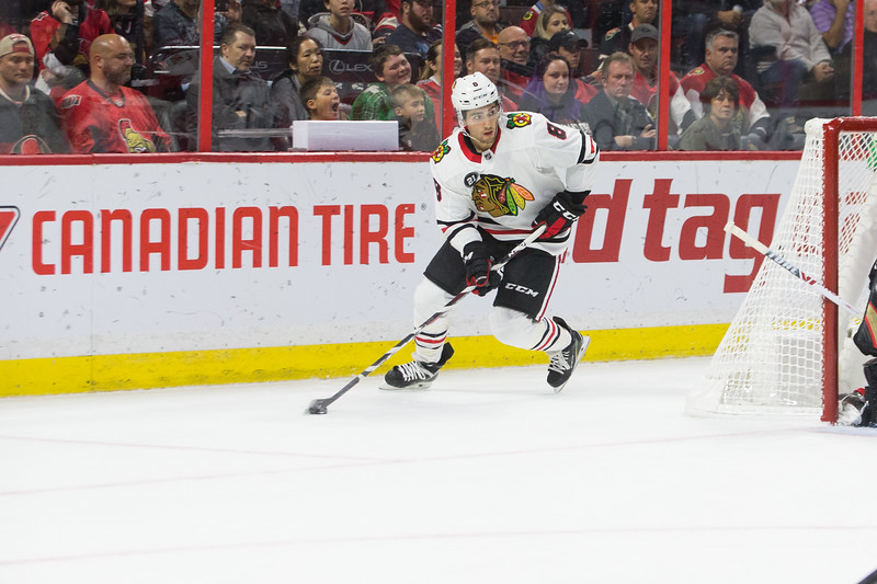 NHL 2018: Blackhawks vs Senators  OCT 04