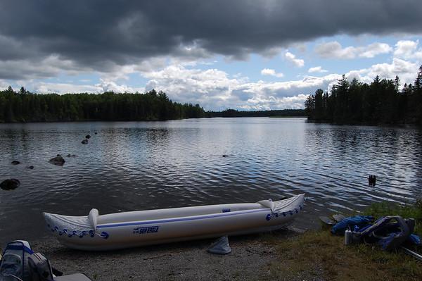 Journal Site 201: Paddling Indian Pond, Greenville, ME - July 27, 2011