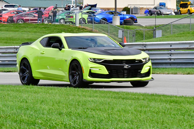 2020 SCCA TNiA Pitt Race Sept 30 Nov Green Lime Camaro