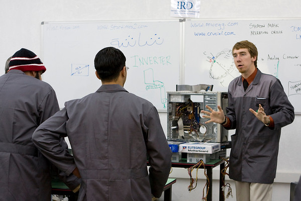 Vocational Training Program for Iraqi Refugees - Feb 2009