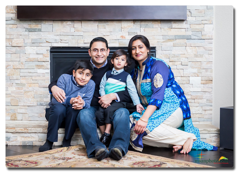 Ranganathan Family - New Year 2018 Portrait Session