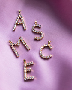 New Letter Necklaces