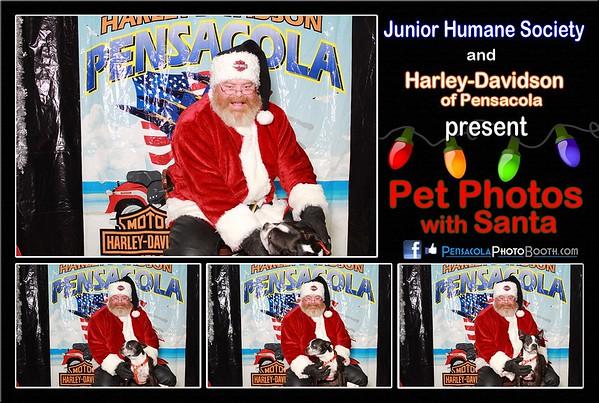 Harley-Davidson Pets with Santa 12-13-2014