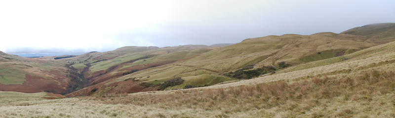 Myreton Hill on a dull day