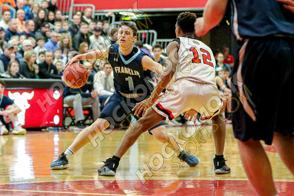 Franklin-Worcester South Boys Basketball - 03-01-20