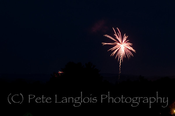 2011 - 4th of July Fireworks - Derry NH