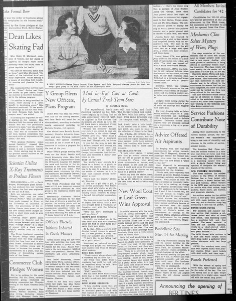 Daily Trojan, Vol. 33, No. 83, January 09, 1942
