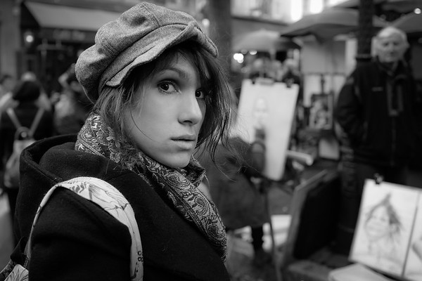Lison, Un Jour d' Octobre 2016, à La Butte Montmartre